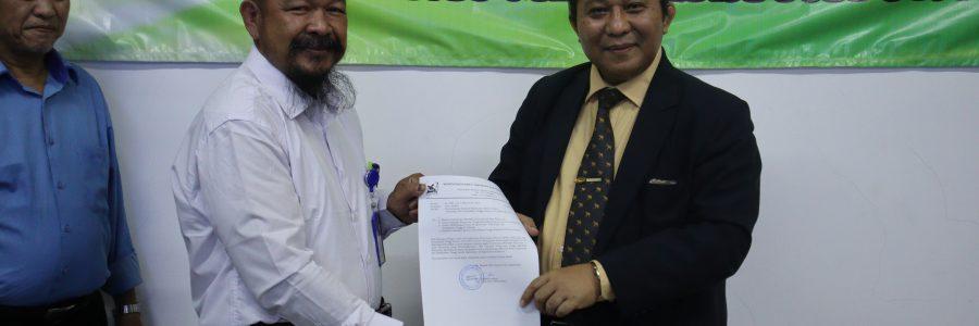 Penyerahan Surat Keputusan Program Studi Rekayasa Perangkat Lunak dan Pembinaan Dosen Oleh LLDIKTI di Universitas Merdeka Pasuruan
