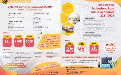 Lomba Desain Landing Page