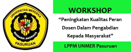 Workshop LPPM Universitas Merdeka Pasuruan