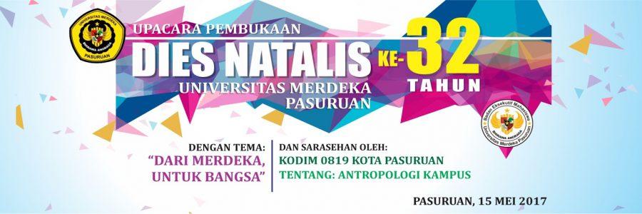 Dies Natalis Ke-32 Tahun Universitas Merdeka Pasuruan